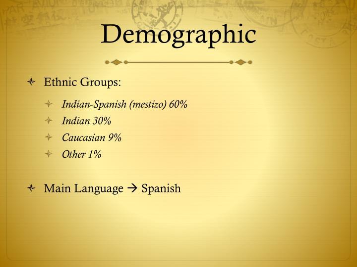 Demographic