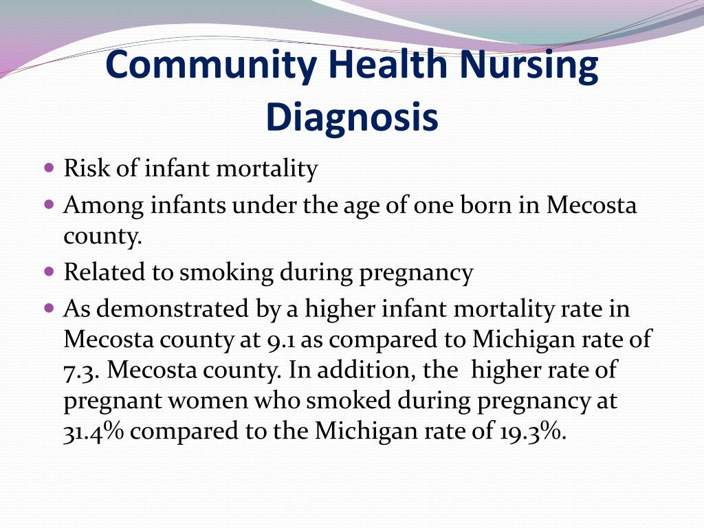 PPT - Infant Mortality in Mecosta County PowerPoint Presentation