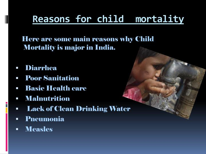 Reasons for child mortality