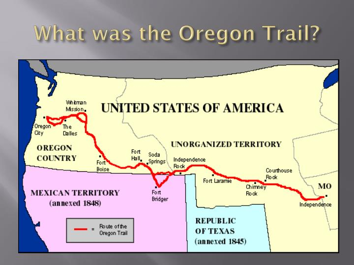 What was the oregon trail1