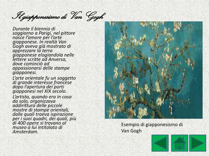 Il giapponesismo di Van Gogh