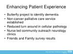 enhancing patient experience1