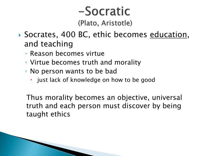 -Socratic