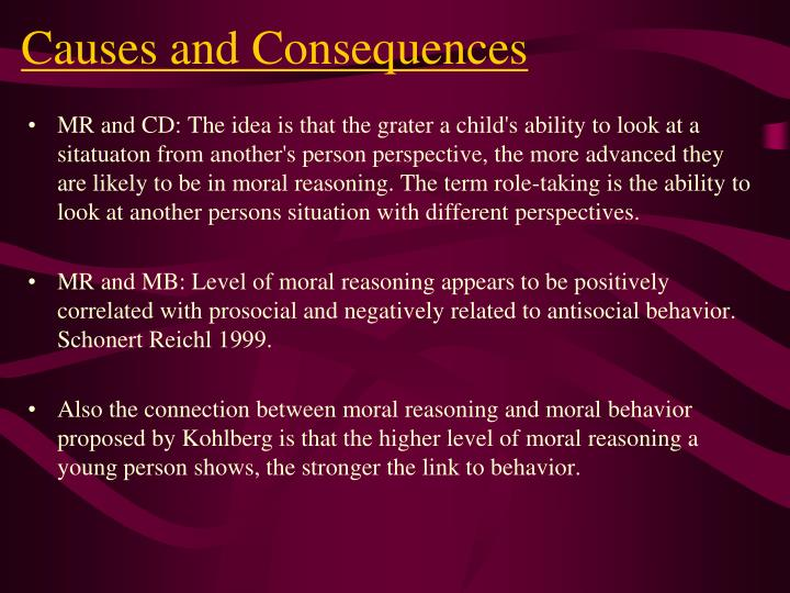 """morality and consequences Moral, ethical, legal: what's the ethical, legal: what's the difference """" tom enforce the """"rules"""" and consequences of morality."""