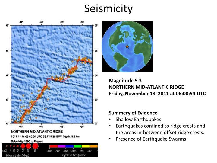 Seismicity