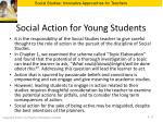 social action for young students