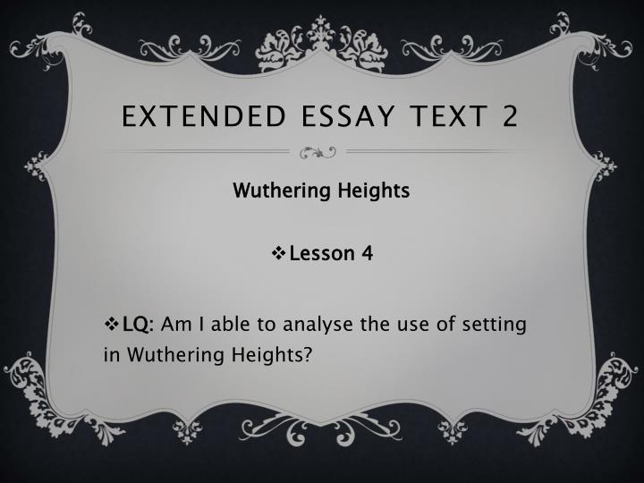 setting analysis and symbolism of wuthering heights The setting in wuthering heights view our essays for wuthering heights.