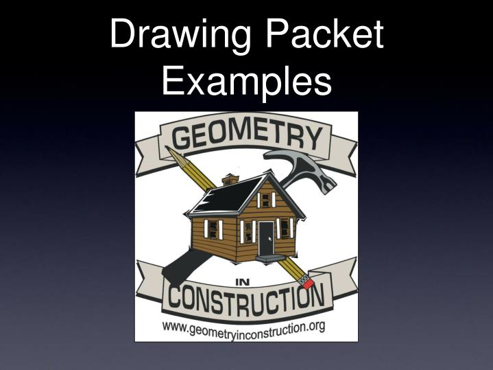 drawing packet examples