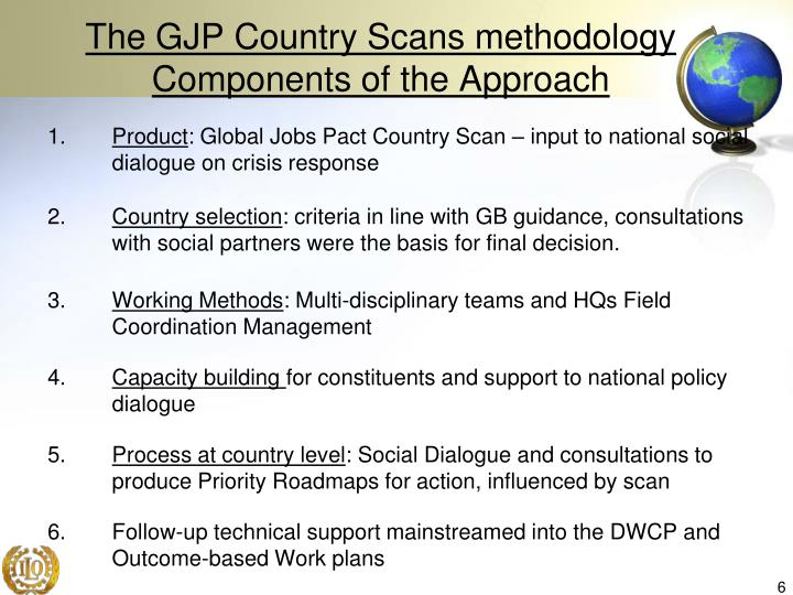 The GJP Country Scans methodology