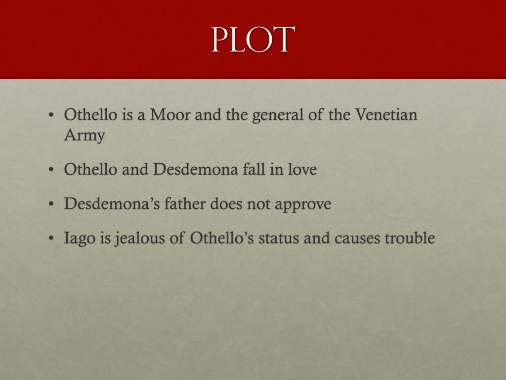 PPT - Othello Background Notes PowerPoint Presentation - ID:2671988