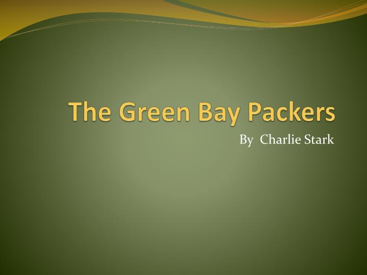 the green bay packers n.
