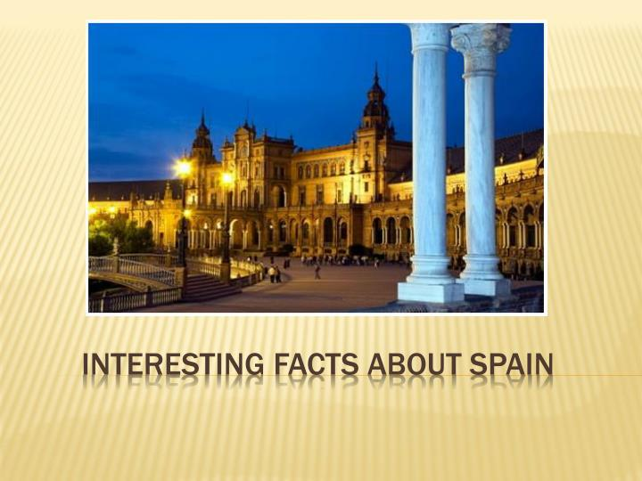 interesting facts about spain n.