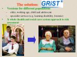 the solution grist1
