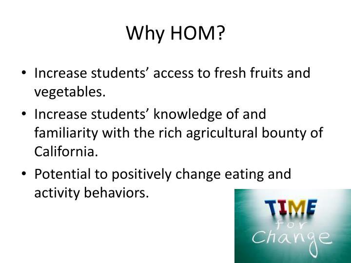 Why hom