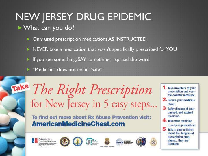 New jersey drug epidemic