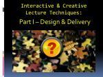 interactive creative lecture techniques1