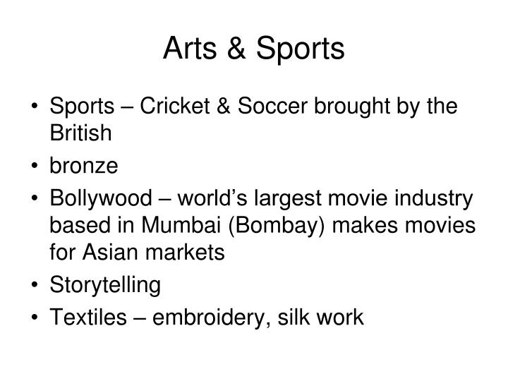 Arts & Sports