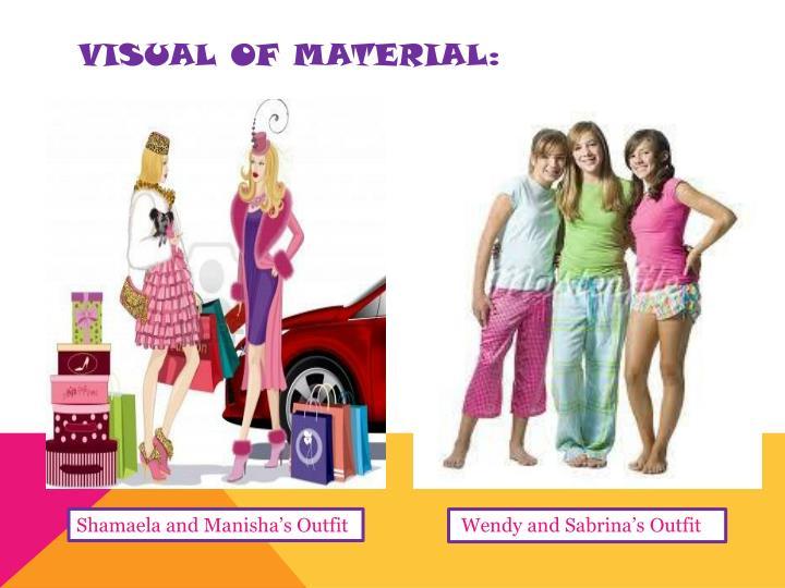 Visual of material