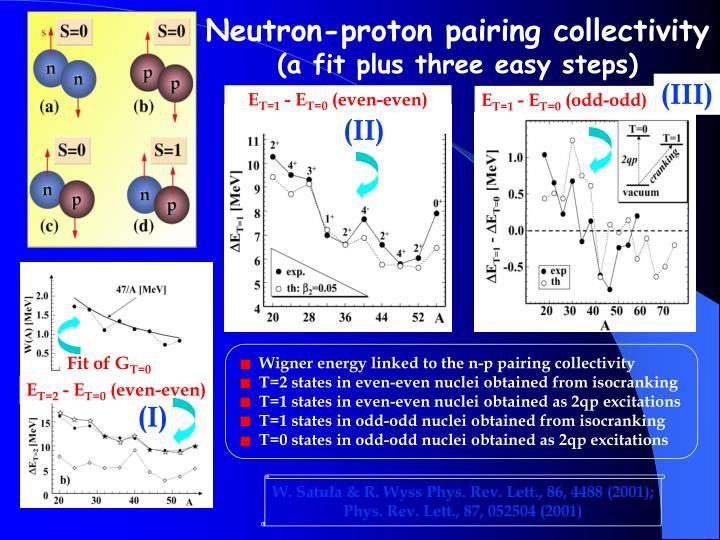 Neutron-proton pairing collectivity