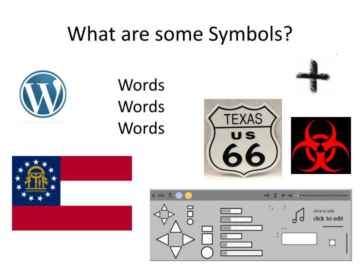 What are some symbols1