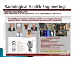 radiological health engineering