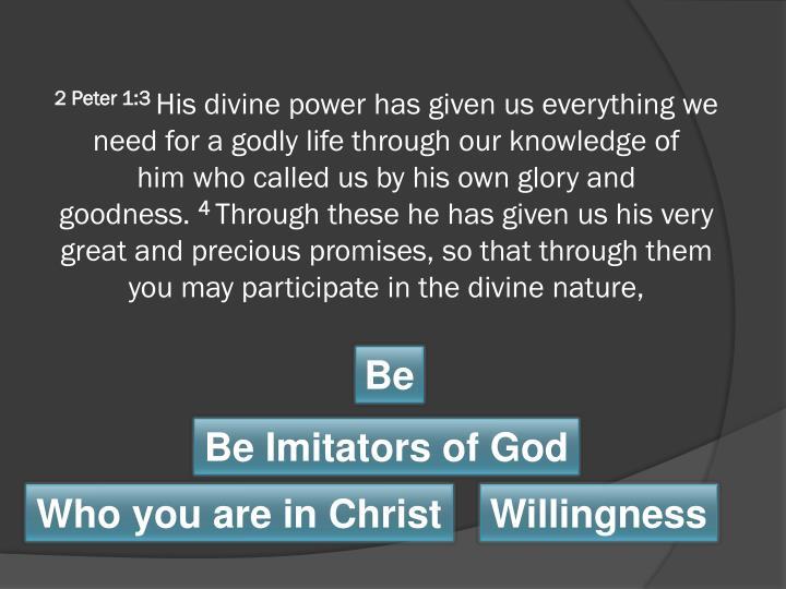 2 Peter 1:3