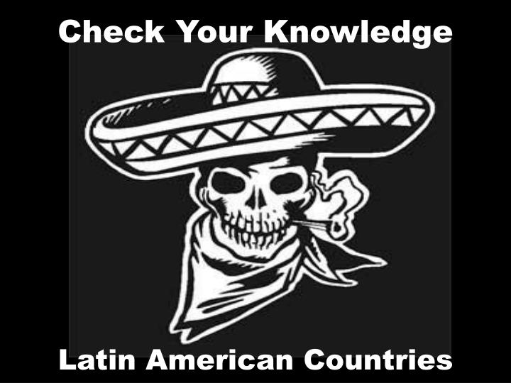 check your knowledge n.