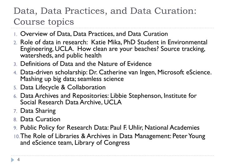 Data, Data Practices, and Data