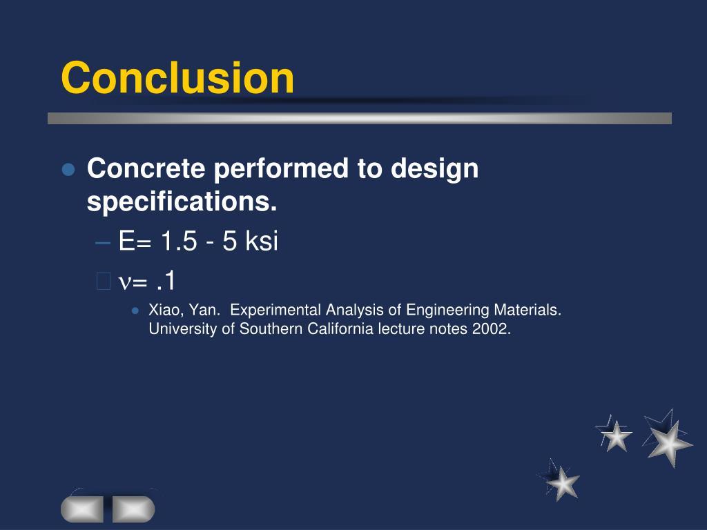 PPT - Modulus of Elasticity and Poisson Ratio of Concrete
