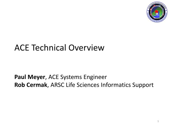 ace technical overview n.