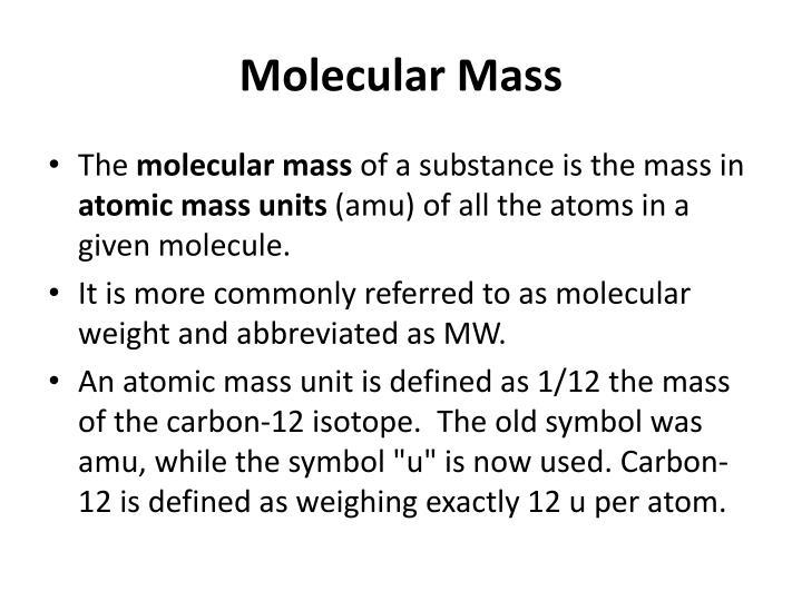 Ppt Molar Mass Powerpoint Presentation Id2674770