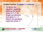 guided practice example 2 continued