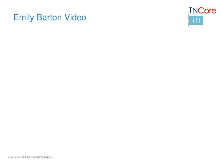 Emily Barton Video