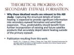 theoretical progress on secondary eyewall formation2