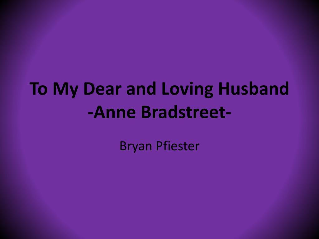 anne bradstreet death