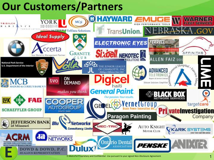 our customers partners n.