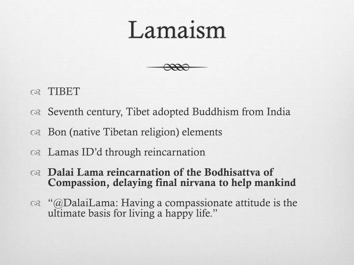 Lamaism