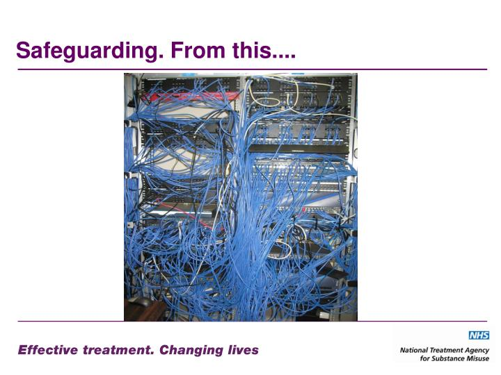 Safeguarding. From this....