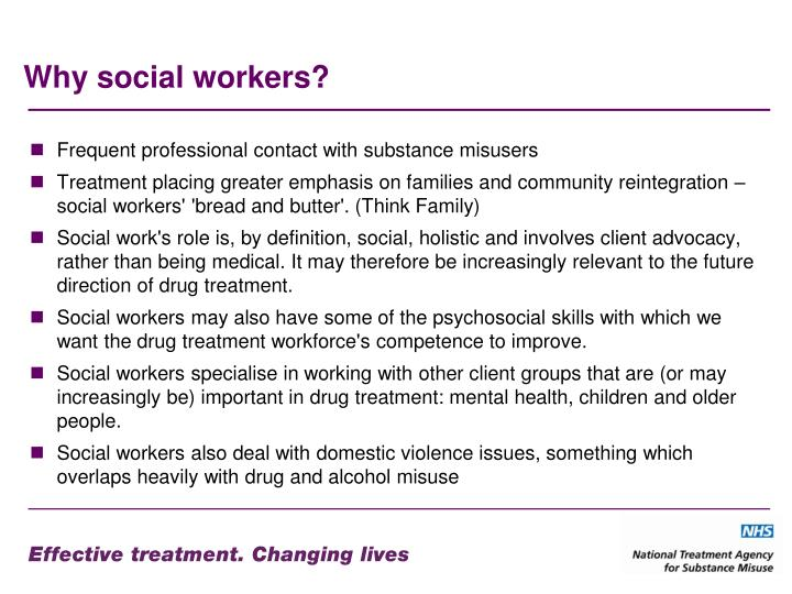 Why social workers?