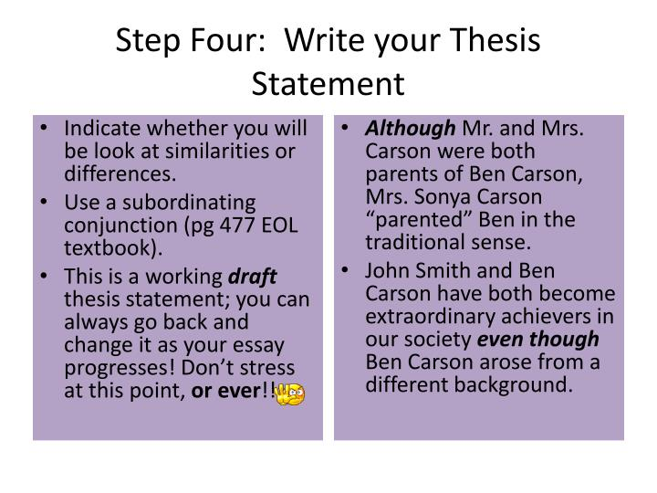 how long should a thesis statement be for an essay