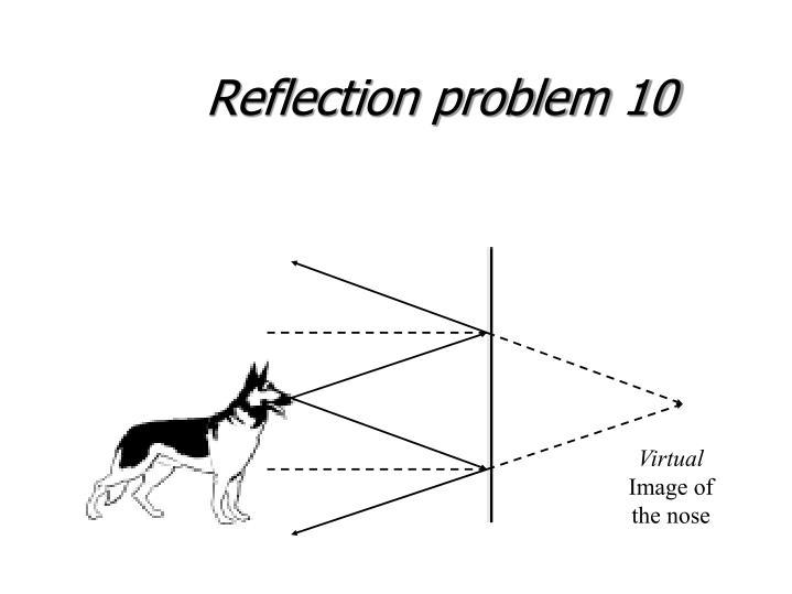 Reflection problem 10