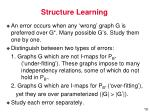 structure learning9