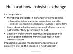 hula and how lobbyists exchange