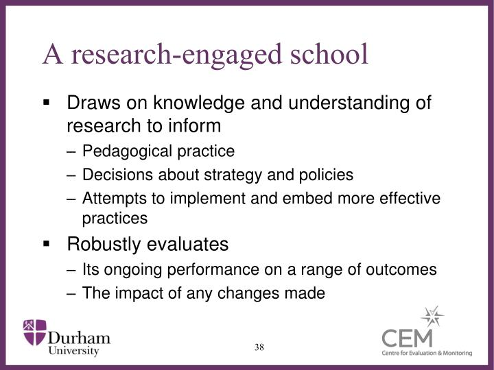 A research-engaged school