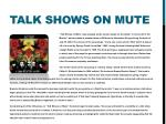 talk shows on mute
