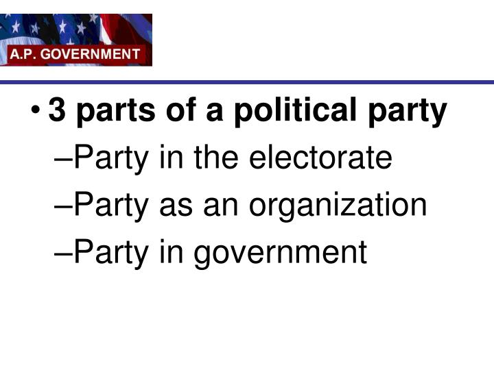 chiles political parties and organizations essay A political party is a group of people organized to seek influence in government policy and for the the main function of political parties is to ensure a two-way communication system between the government political parties, in this situation, help pulling interest groups into a larger organization.
