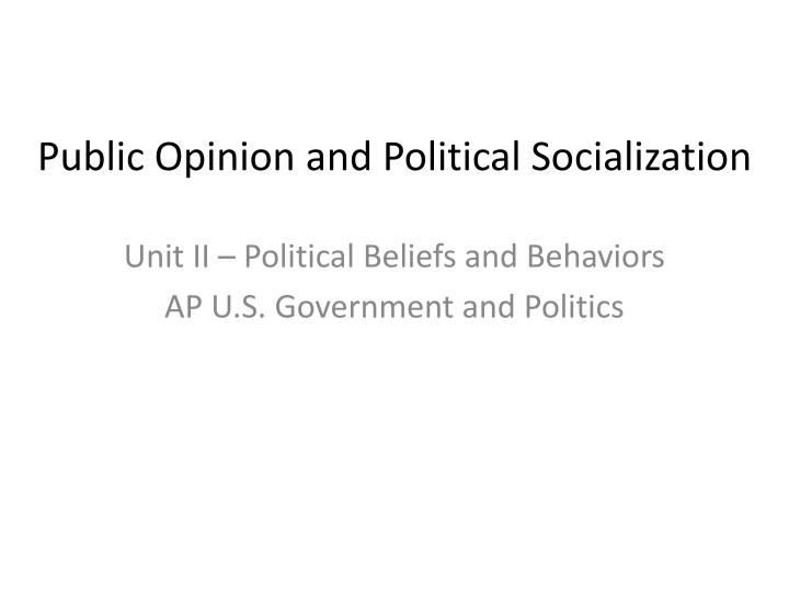 'a major shaper of public opinion To shape public opinion with competing news frames shape public opinion and subsequently affect this study examined how six major newspapers framed policy.