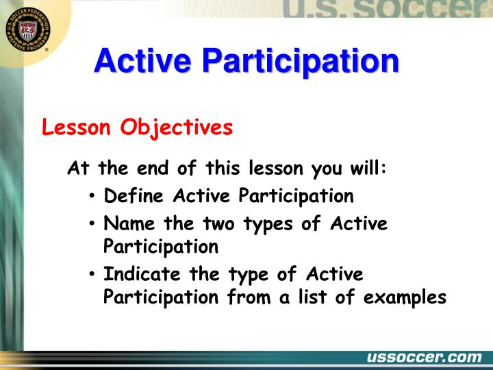 Active participation2