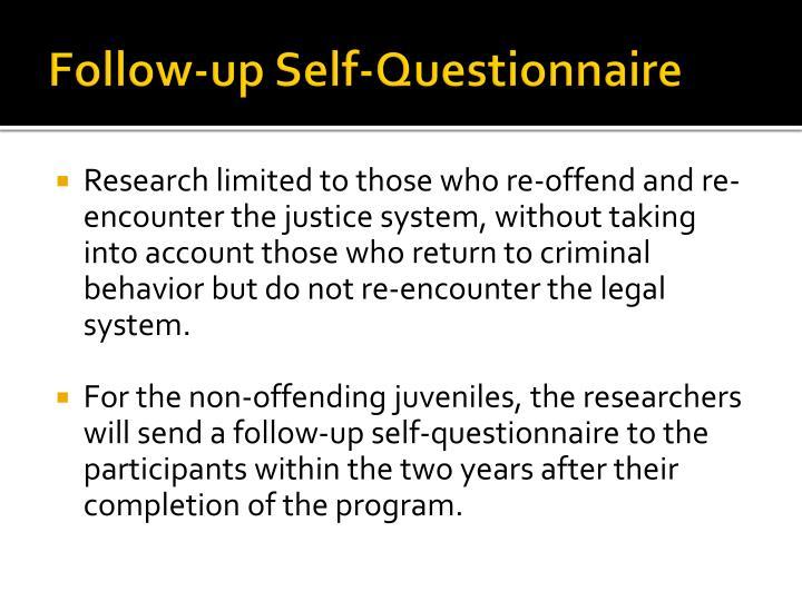 Follow-up Self-Questionnaire