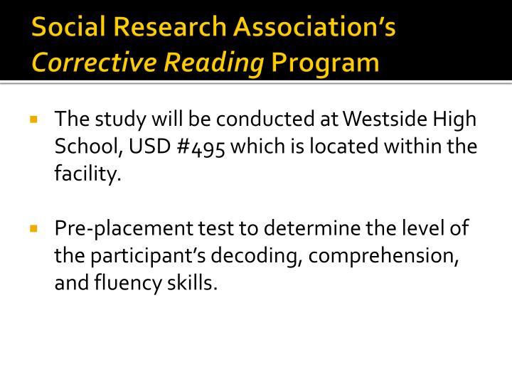 Social Research Association's